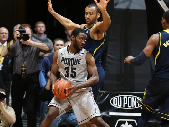 Purdue guard Rapheal Davis (35) will be counted on for vital leadership this season.