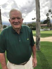 Bob Goalby, a part-time resident of Palm Desert,  won