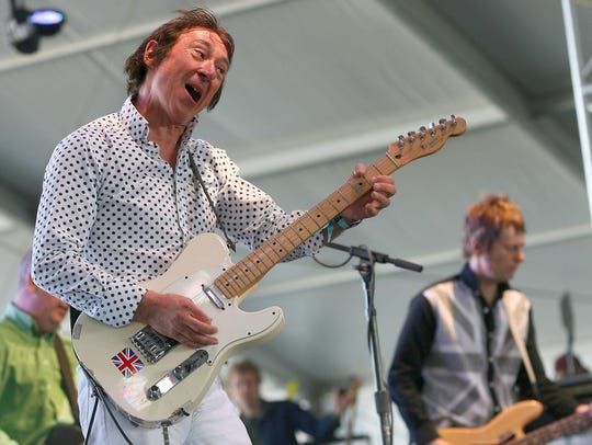 Punk Rock Bowling act The Buzzcocks, pictured in 2012