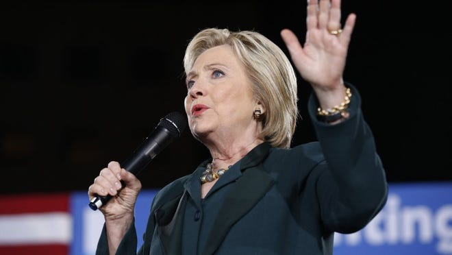 (Associated Press files) Democratic presidential candidate Hillary Clinton will visit Memphis on Sunday morning, her campaign announced Saturday evening.