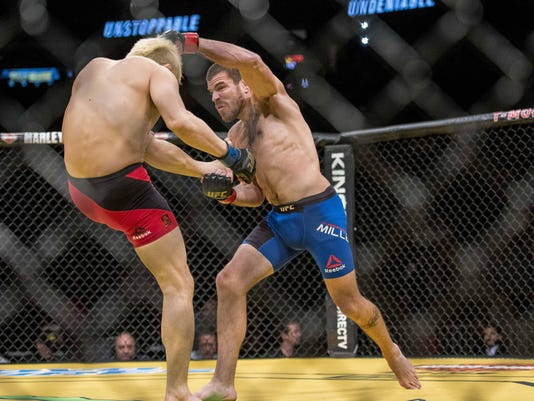 MMA: UFC 200-Miller vs Gomi