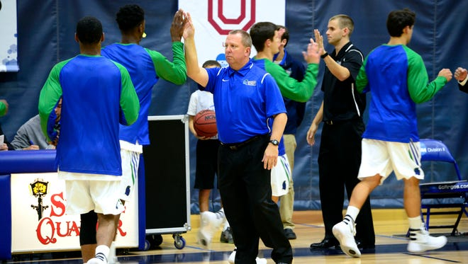 University of West Florida men's basketball coach Jeff Burkhamer, whose team plays Monday against Montevallo, has steered the Argos to a 10-0 start, the best in school history and the highest national ranking (No. 13) in the NCAA Division II poll in school history.