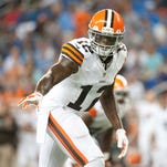 Browns WR Josh Gordon missed the first 10 games of the season due to a suspension. He'll make his season debut in Week 12 at Atlanta.