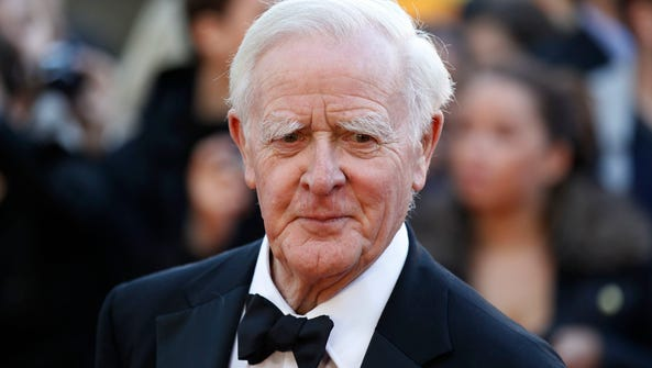 Author John le Carre's new thriller will be published