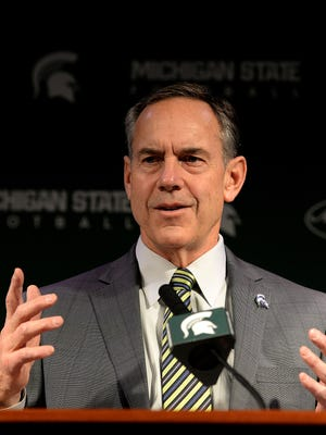 Spartans head coach Mark Dantonio talks about his most recent recruiting class during a signing day press conference Wednesday at Spartan Stadium. It's the highest-rated class of his tenure.