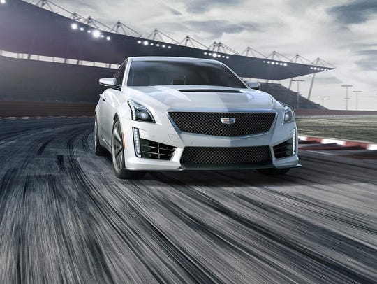 Cadillac's CTS-V can reach 60 mph from a standstill