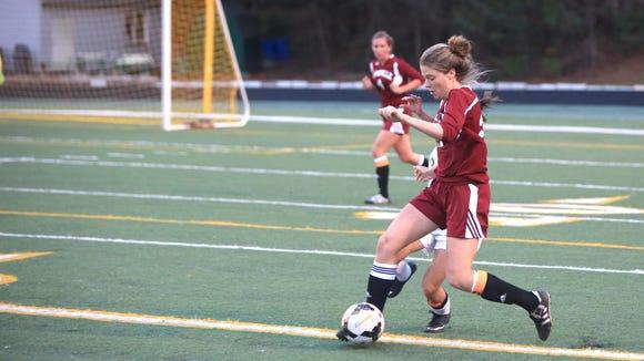 Asheville High soccer player Ellie Stone.