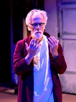 "Bill Gorman stars as poet Allen Ginsberg in the Tri-Cities Opera production of ""Hydrogen Jukebox."""