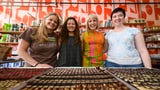 Local and visiting owners of craft chocolate shops talk about the sustainability of their suppliers