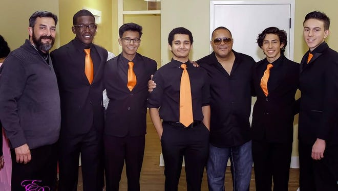 The Lincoln Park Academy Jazz Combo spent some time with Najee after opening for the jazz musician at the Sunrise.