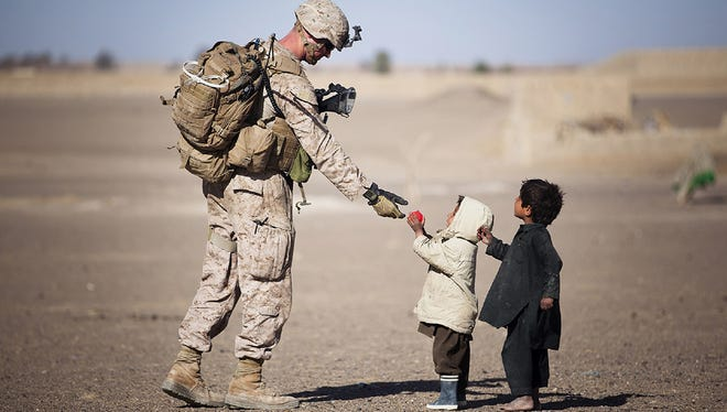 A report finds that veterans of the Iraq and Afghanistan wars suffer from food insecurity at more than double the national rate of 12 percent.