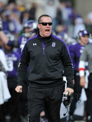 Northwestern Wildcats head coach Pat Fitzgerald is urging his players to vote 'no' on forming a union.