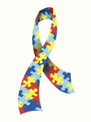 The colors of the Vector Autism Awareness ribbon represent the diversity within the disorder.