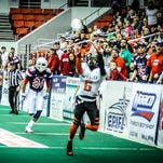 Jarrel Kelley's play with an indoor team in Wichita helped him land an Arena League chance with Philadelphia. The Cocoa High graduate's first game is slated to be back home against the Orlando Predators in March.