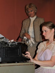 Eileen Adams plays Amanda and Sarah Gantzer is Laura