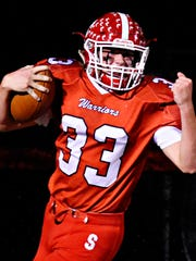 Susquehannock's Allen Clapp will return this season as the Warriors attempt to defend their York-Adams Division II championship. DISPATCH FILE PHOTO