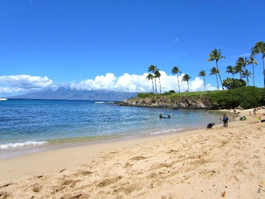 Kapalua Bay Beach in Hawaii is the top of the heap
