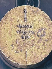 Back of Wagner seal, courtesy of Greenbrier Historical Society