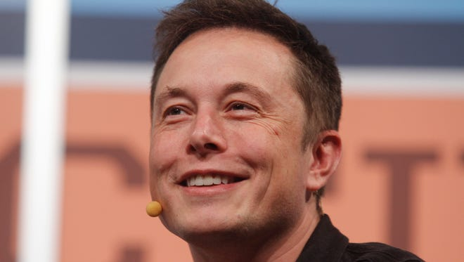 SpaceX CEO Elon Musk gives the opening keynote at the SXSW Interactive Festival in Austin, Tex. Musk is confident that his Model S electric car is safe and will be cleared by a federal investigation into two recent fires.