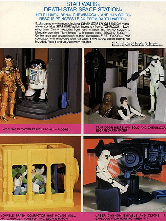 Kenner Star Wars action figures advertisement, Courtesy of The Strong, Rochester, New York