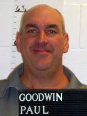 Paul Goodwin, who was convicted of killing a 63-year-old St. Louis County woman with a hammer in 1998.