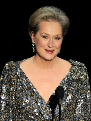 Meryl Streep in February 2013
