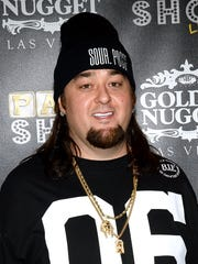 """Austin """"Chumlee"""" Russell at t'Pawn Shop Live!,' a parody"""