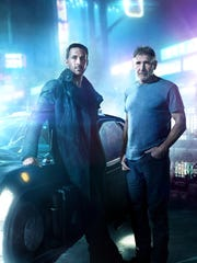 "Ryan Gosling and Harrison Ford in ""Blade Runner 2049."""