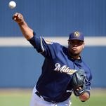 Brewers' Wily Peralta hoping to build off strong finish in 2016