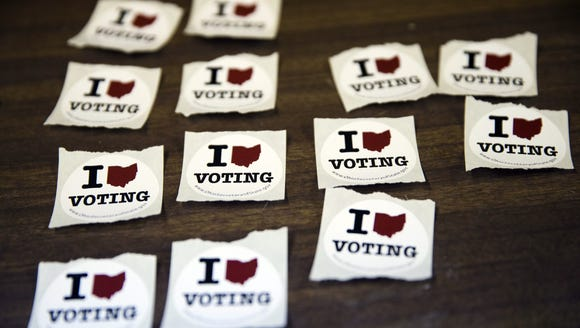 Ohioans can't vote by phone.