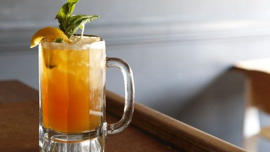Pimm's Cup is the house drnk at Napolean House in the French Quarter.
