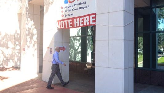 Early voting is up this year over the last gubernatorial election in 2010.