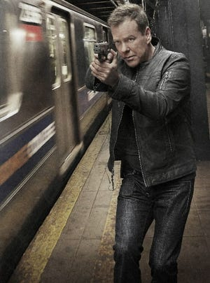 Kiefer Sutherland is back on duty in '24: Live Another Day.'