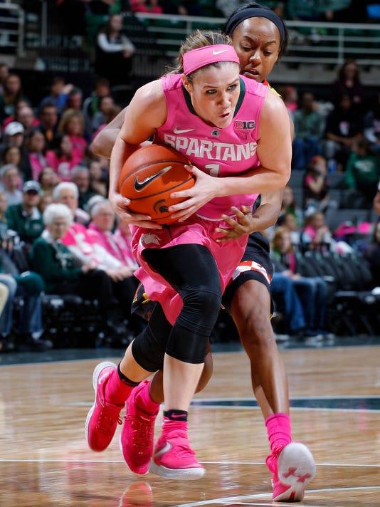 MSU vs Maryland Women's Basketball