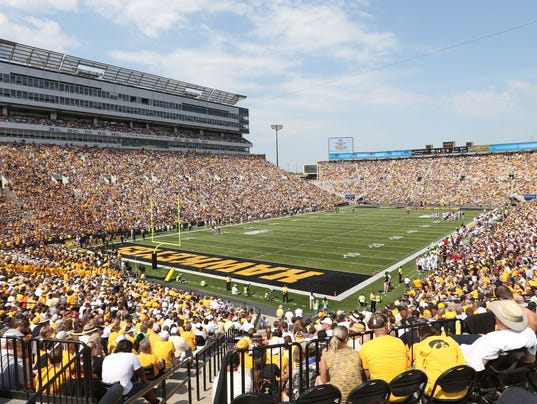 NCAA Football: Missouri State at Iowa
