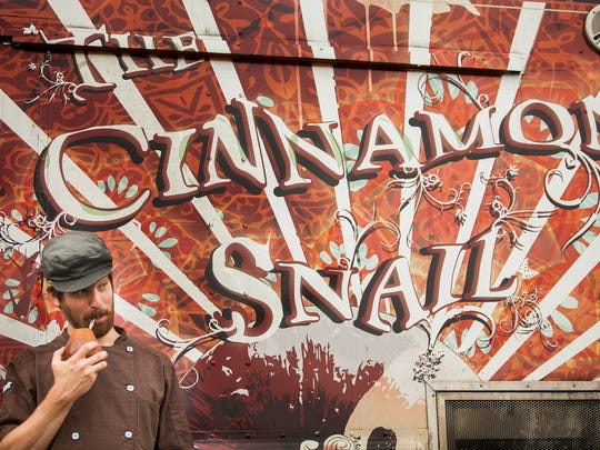 Adam Sobel of Red Bank, chef and owner of The Cinnamon Snail.