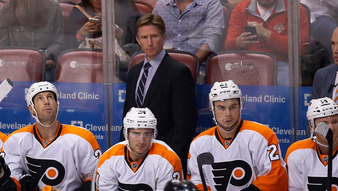 Flyers coach Dave Hakstol has made it clear that paychecks don't mean playing time for the Flyers.