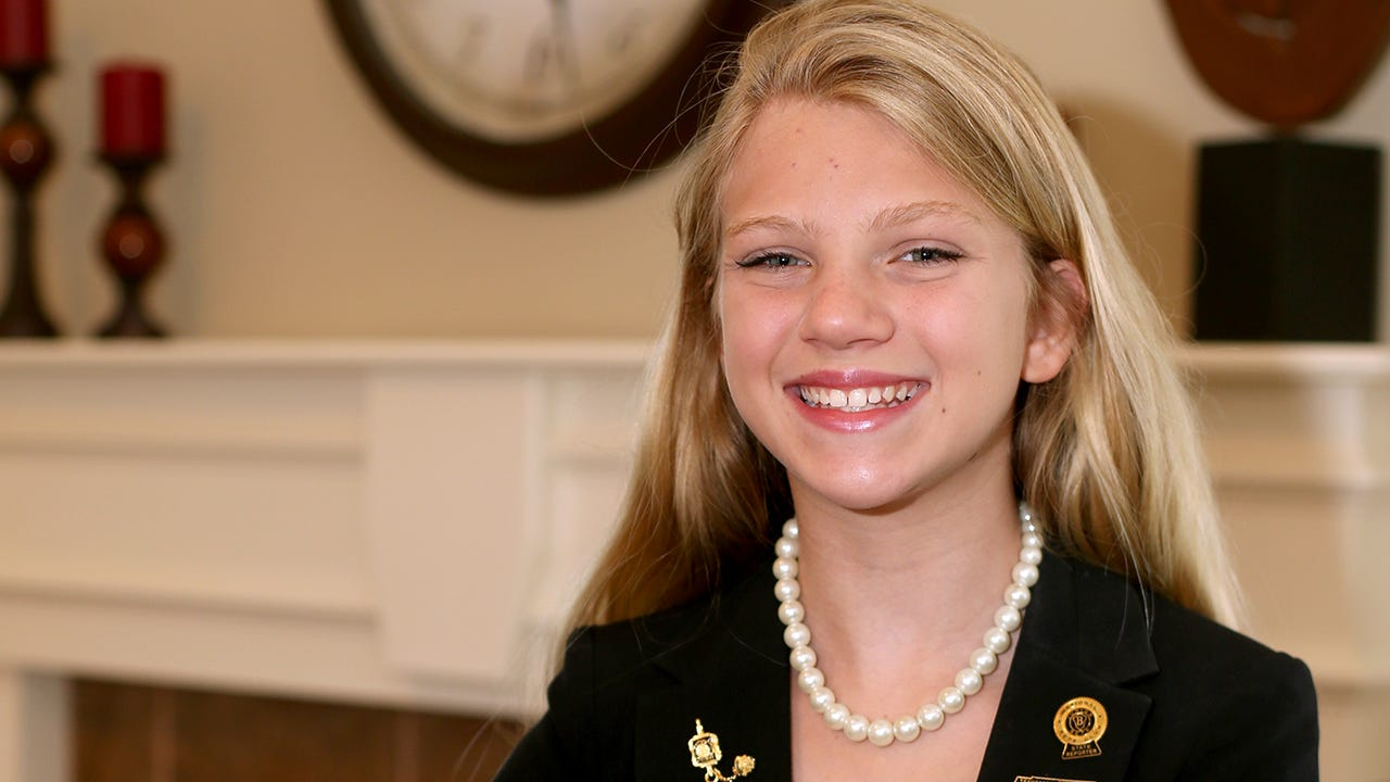 Emma Wayne presented this speech to win the National Jr. Beta Club Reporter position.