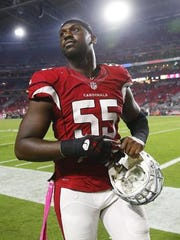 Arizona Cardinals pass rusher Chandler Jones