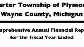 The cover of a recent Plymouth Township financial audit.