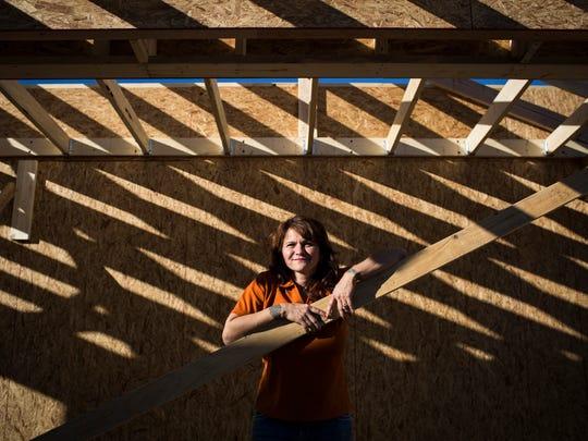 "Ella ""Elly"" Springfield, owner of Copper Sun Construction,"
