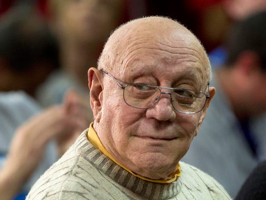 Jerry Tarkanian won 784 games during his college coaching career at three schools. He is most known for his 17-year tenure at UNLV, where he led the Rebels to three Final Fours and the 1990 national title.