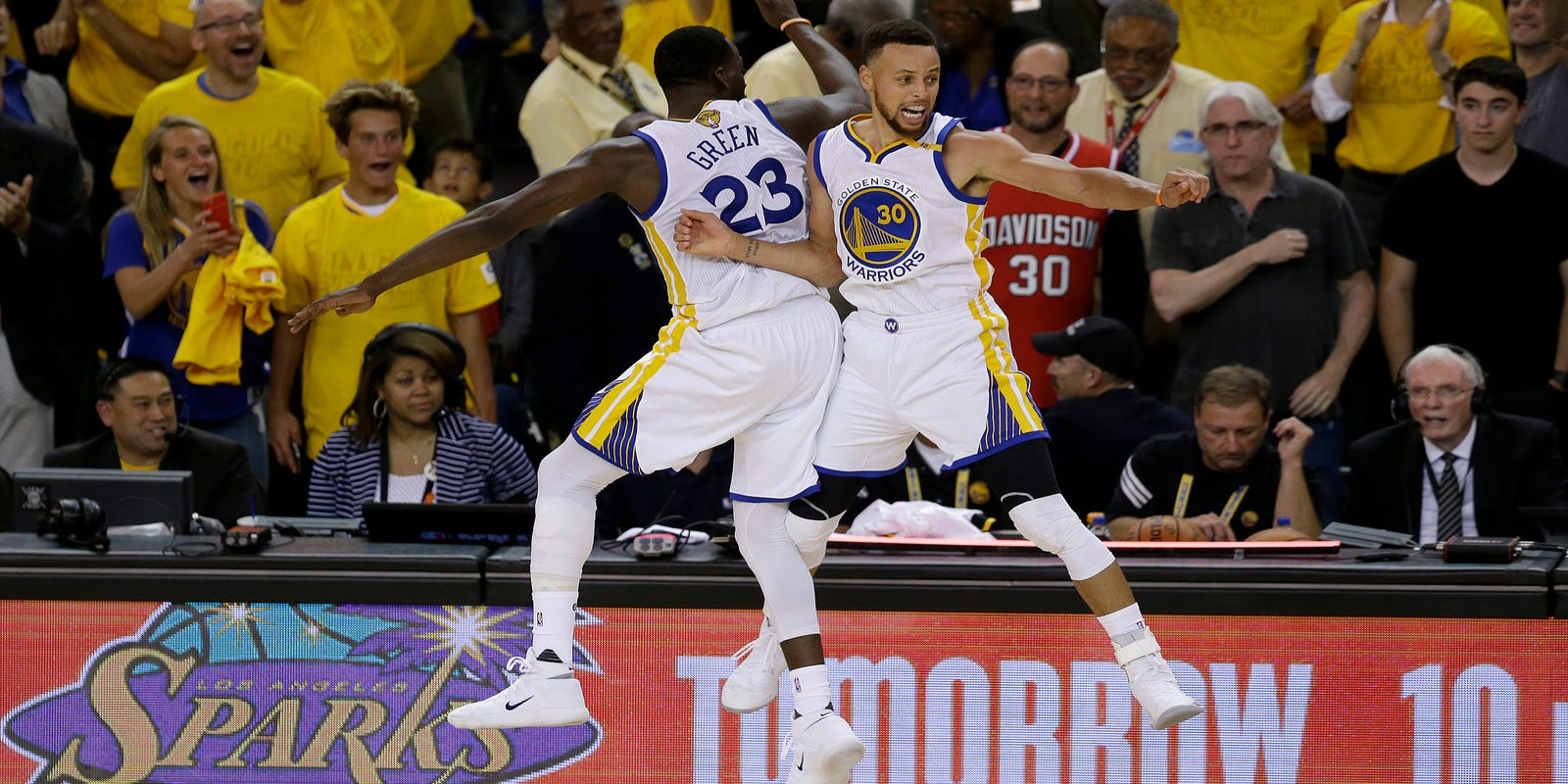 Kevin Durant, Stephen Curry lead Warriors to NBA championship