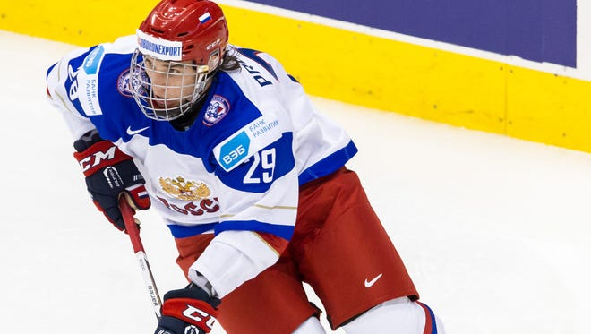 Ivan Provorov, of Russia, will be one of the top players for his country in the tournament this year.