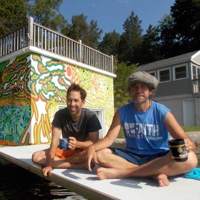 Consider the pineapple: Boathouse mural adorns Nemahbin Lake