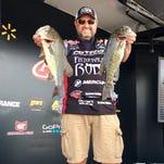 Walmart FLW  bass fishing tour on Norris lake