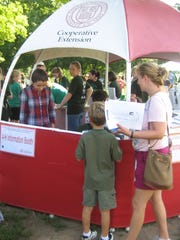 Cornell Cooperative Extension participates in the 2012 Westchester County 4-H Fair at Muscoot Farm.