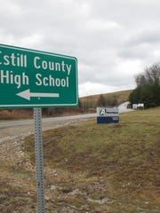Estill County High School is across the road from the