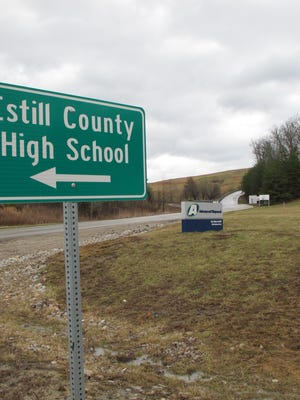 Estill County High School is across the road from the Blue Ridge Landfill owned by Advanced Disposal.