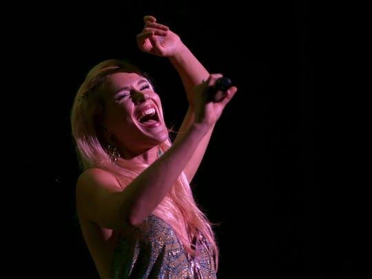 Joss Stone was the headliner for opening night of the Rochester International Jazz Festival.  She played in Kodak Hall at Eastman Theatre.